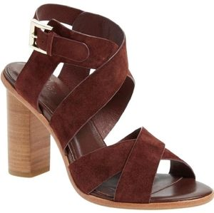 Joie Red Avery in Oxblood 40 Sandals